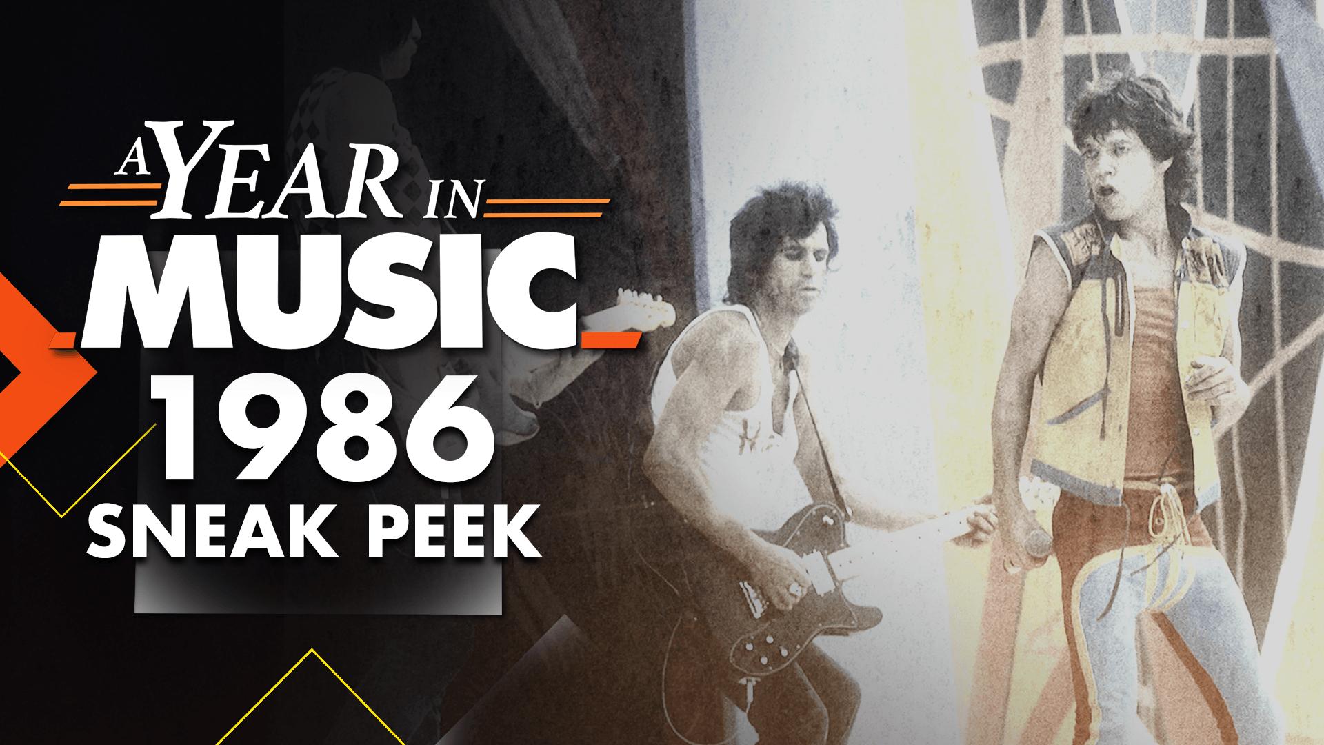 A Year in Music: 1986 Sneak Peek