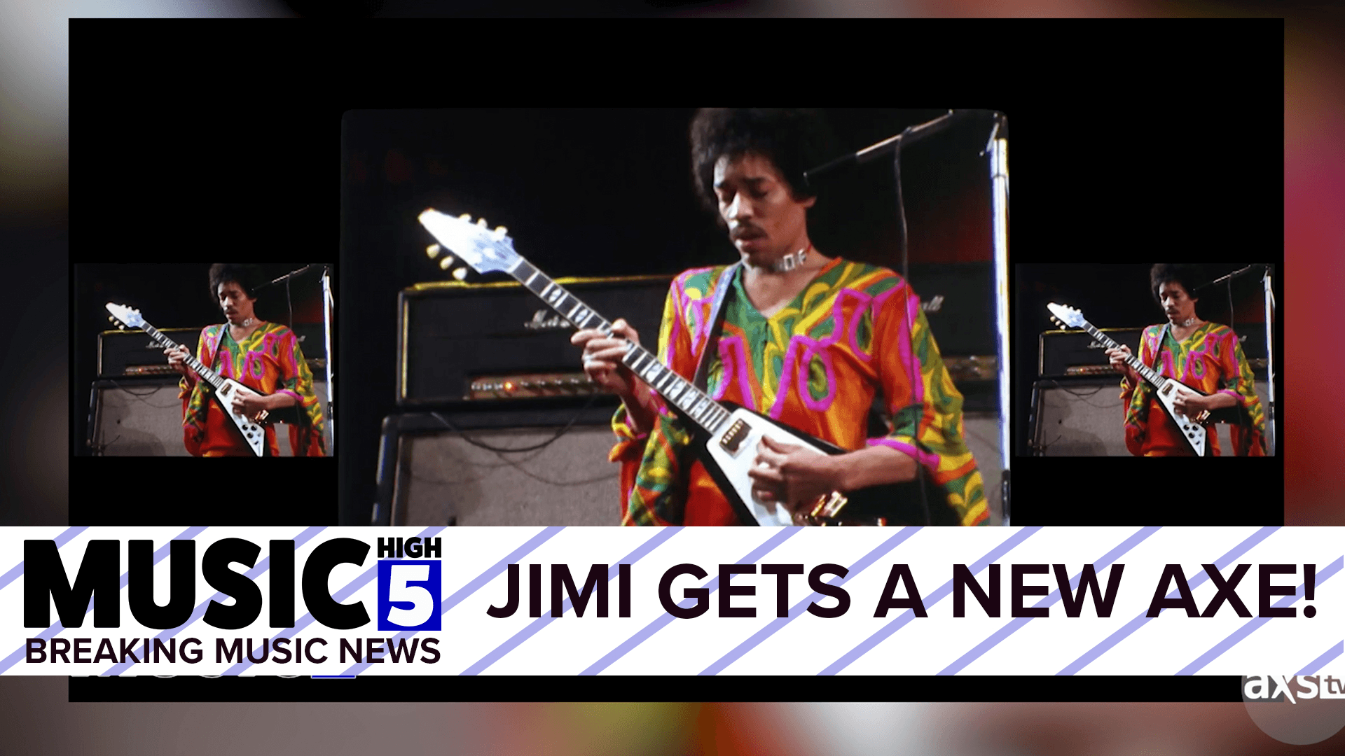 Jimi Hendrix Gets A New Guitar | Music High 5