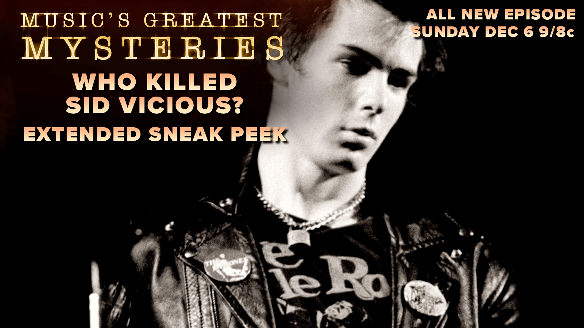 Who Killed Sid Vicious? Extended Sneak Peek | Music's Greatest Mysteries