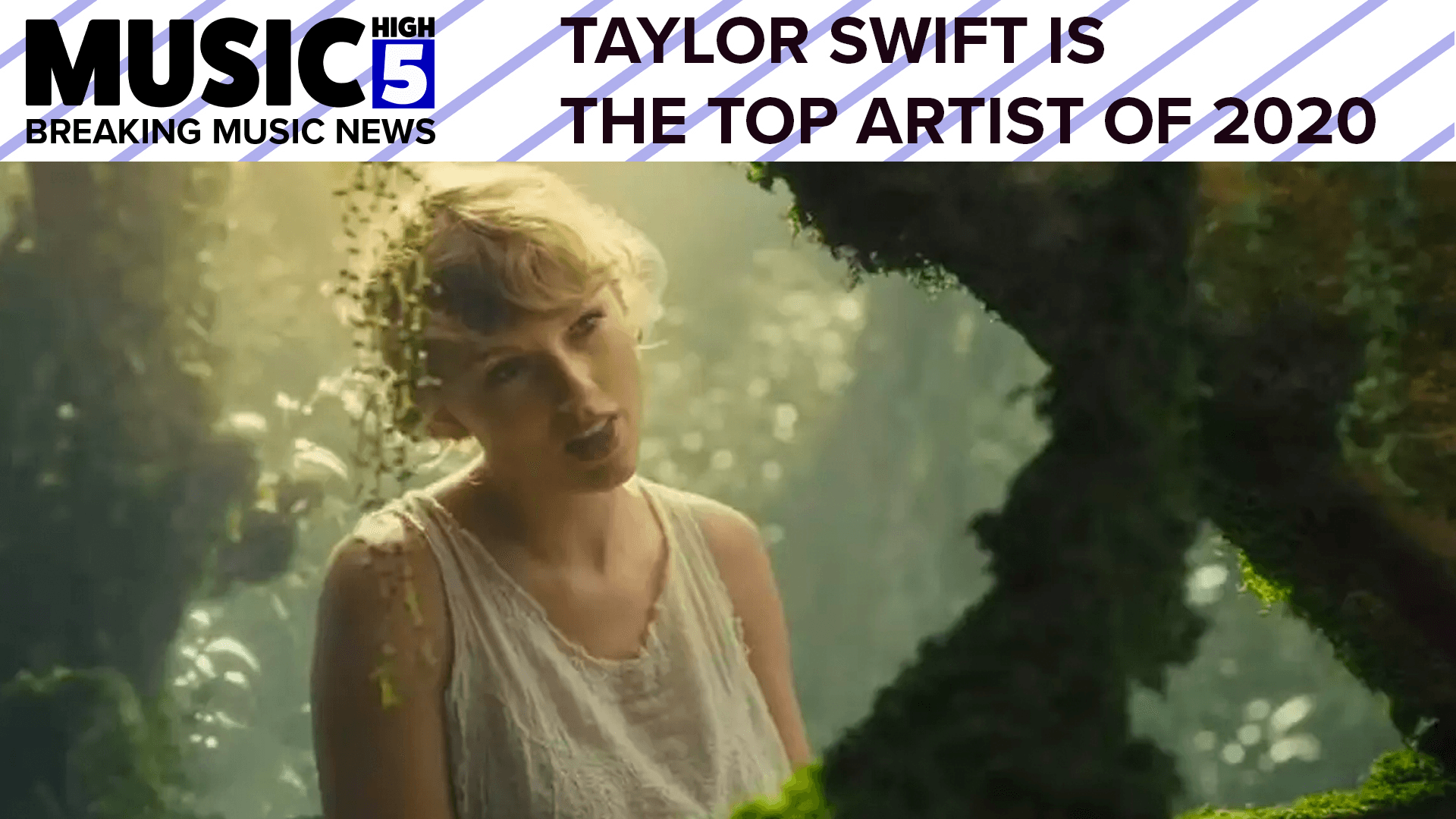 Taylor Swift = The Top Artist of 2020 | Music High 5