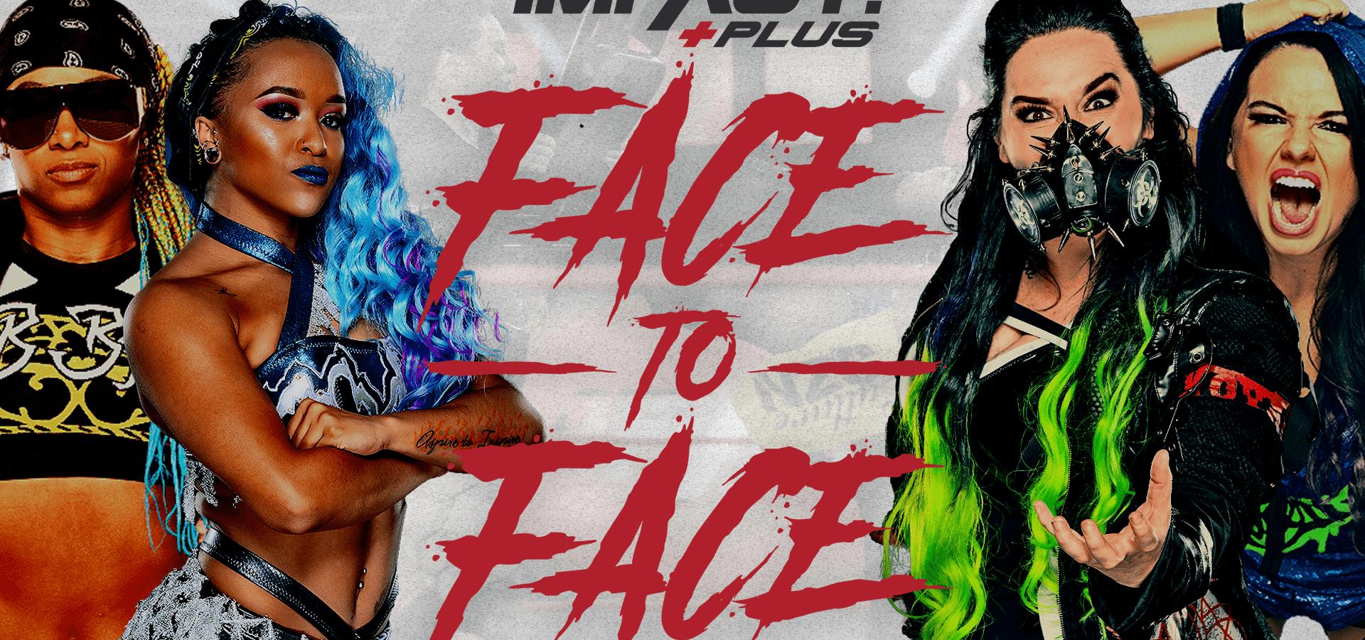 Face To Face – Havok & Nevaeh vs Kiera Hogan & Tasha Steelz (IMPACT! August 11, 2020)
