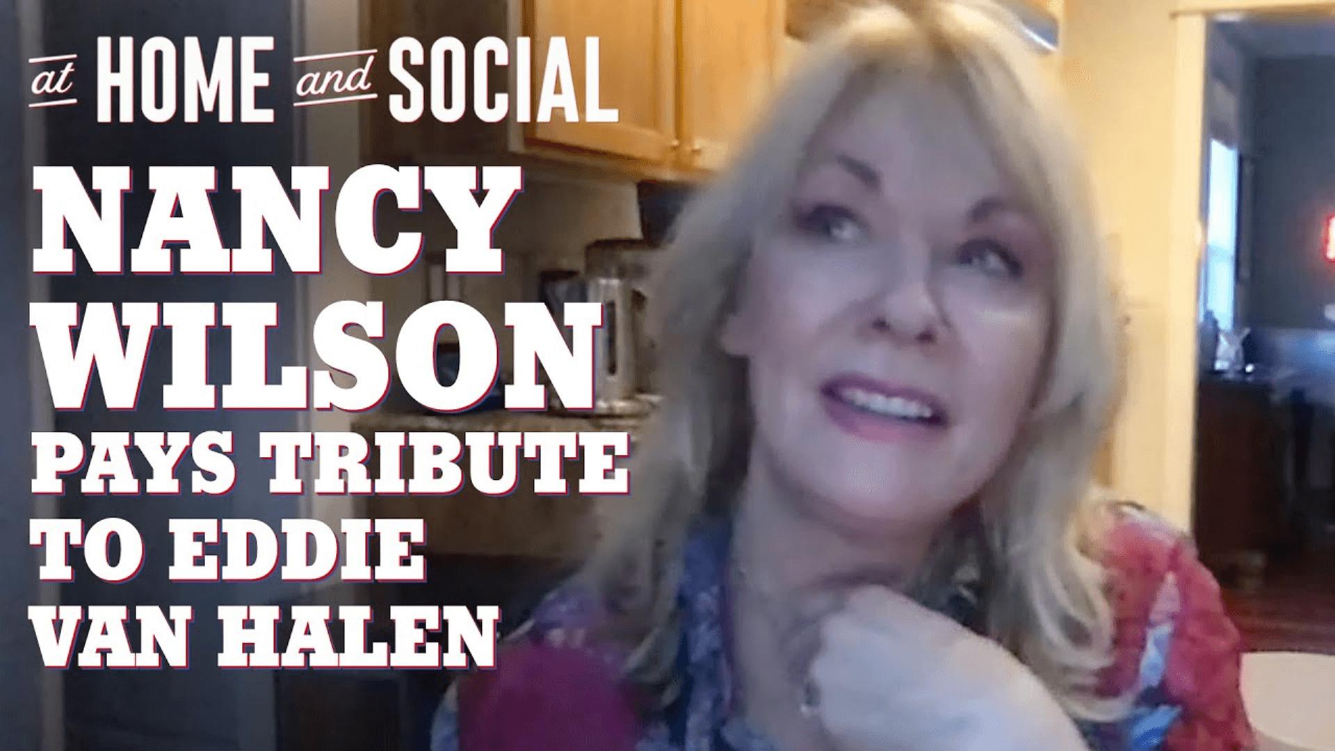 Nancy Wilson | At Home and Social