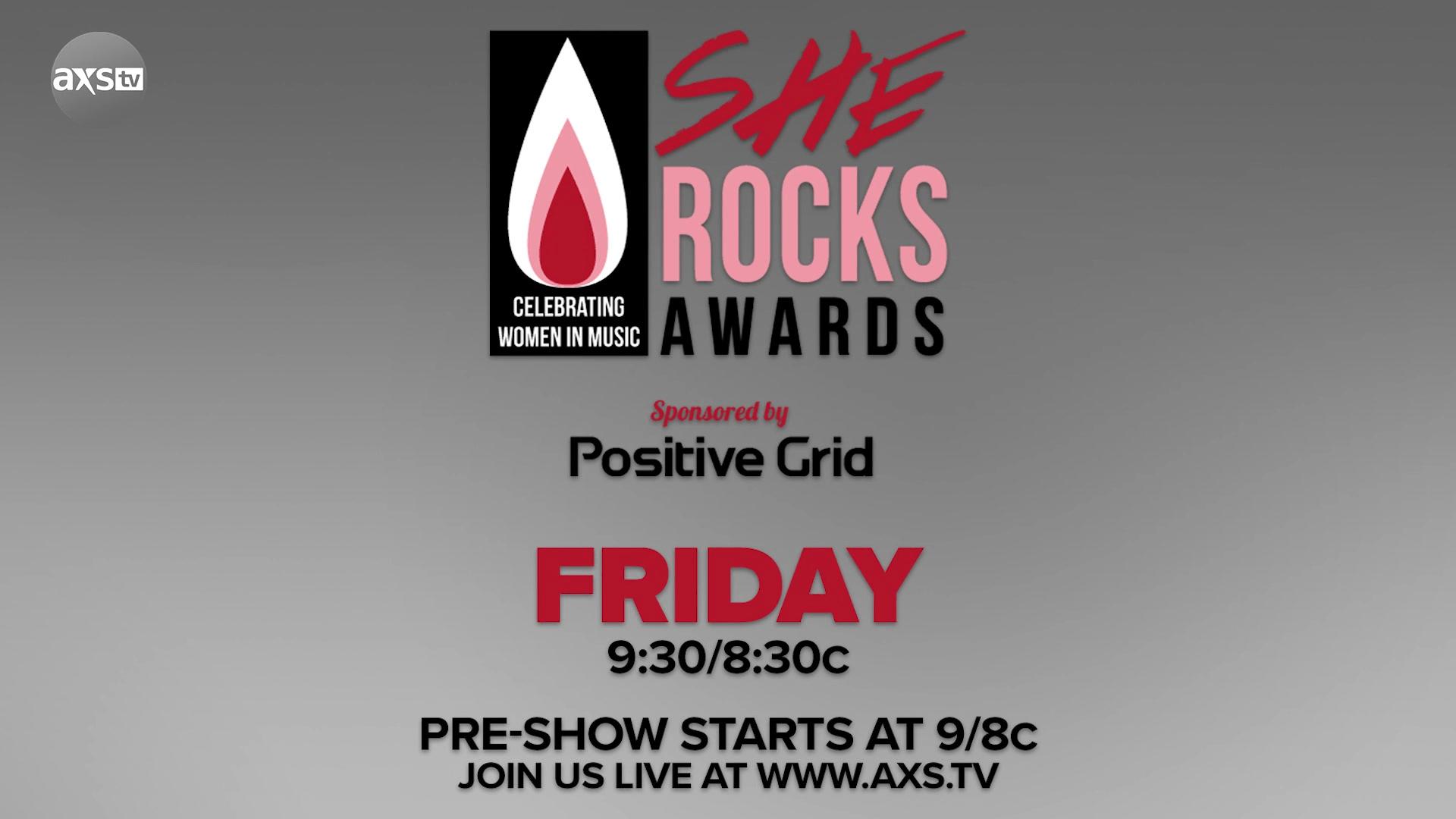 Lzzy Hale Hosts The She Rocks Awards