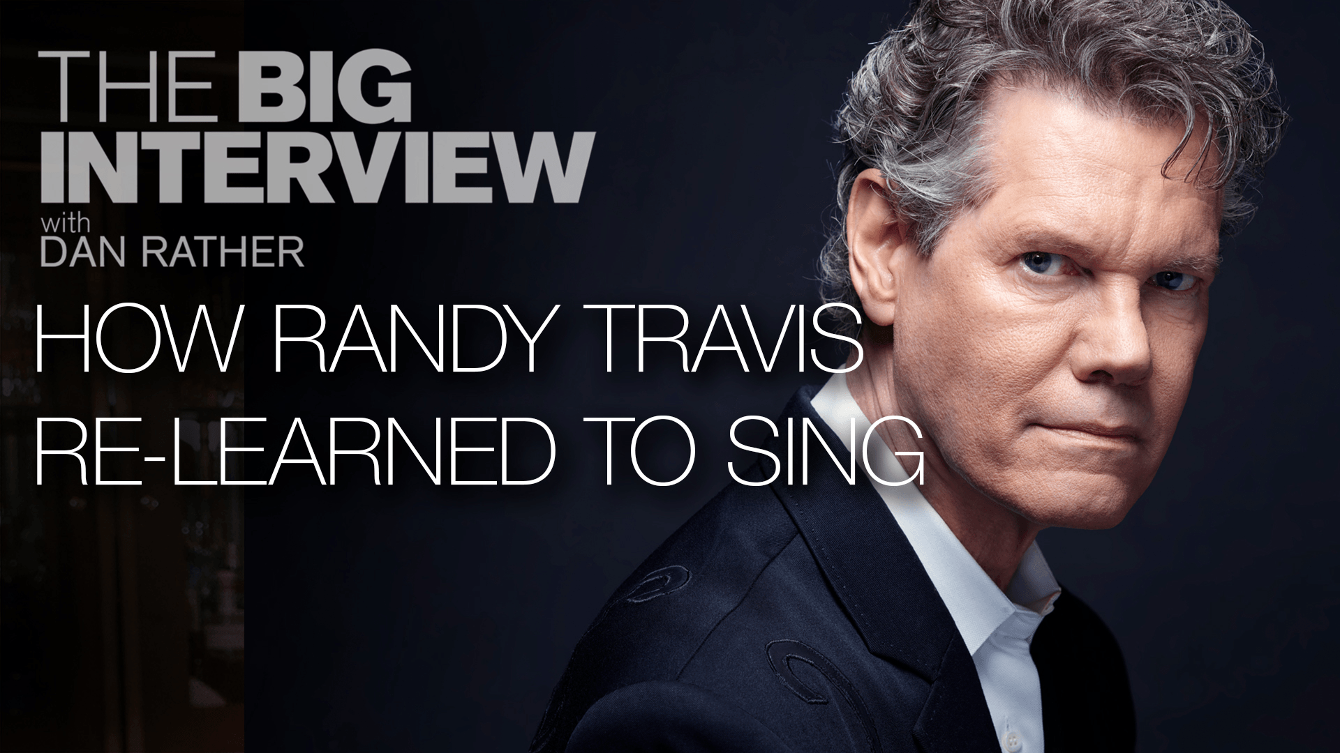 Randy Travis' Return to the Stage | The Big Interview