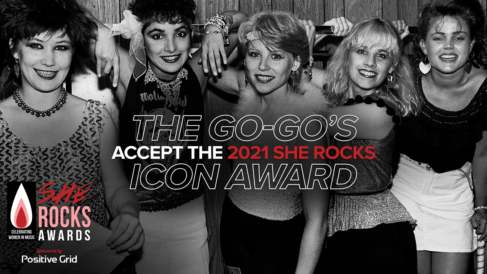 The Go-Go's Accept The Icon Award | She Rocks Awards