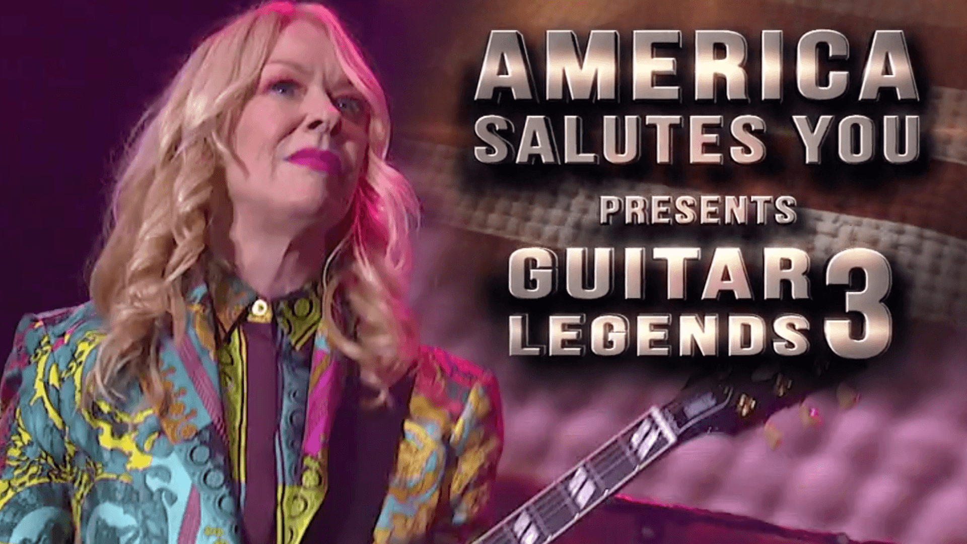 America Salutes You: Guitar Legends 3