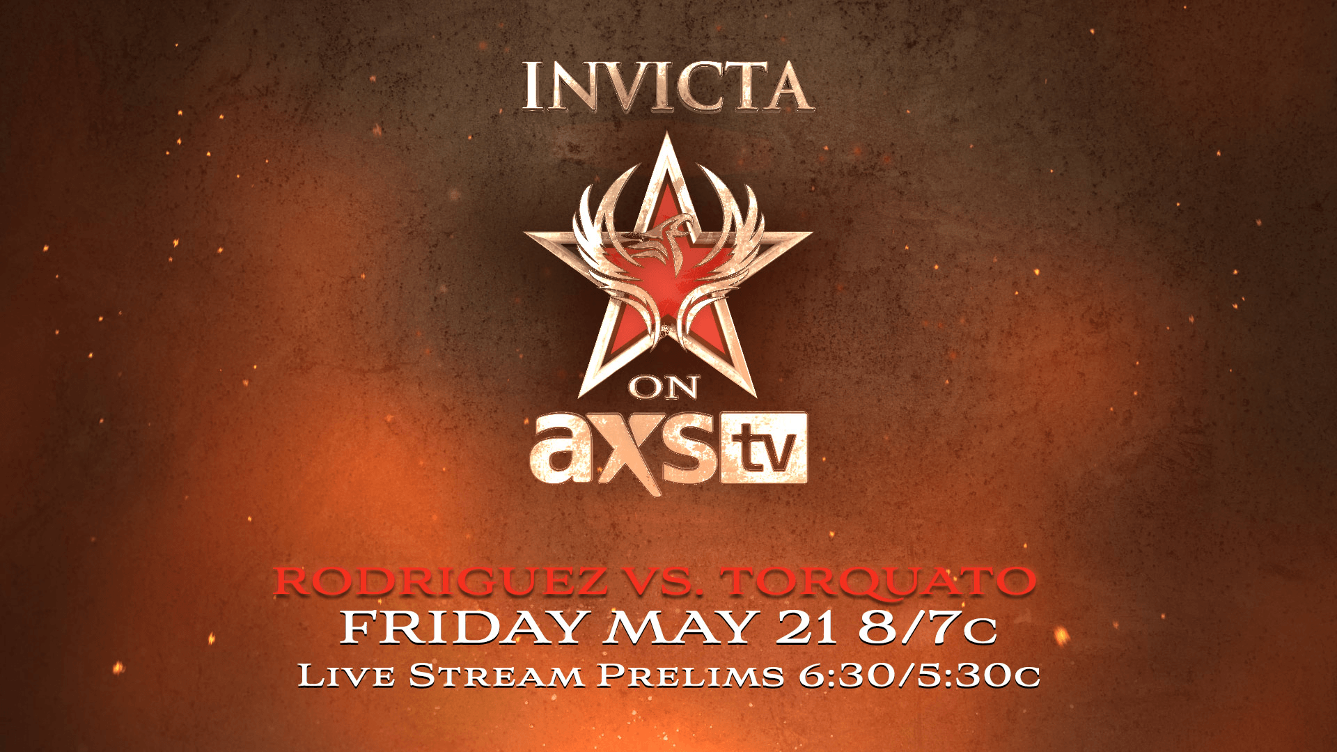 Invicta Fighting Championship comes to AXS TV May 21st!