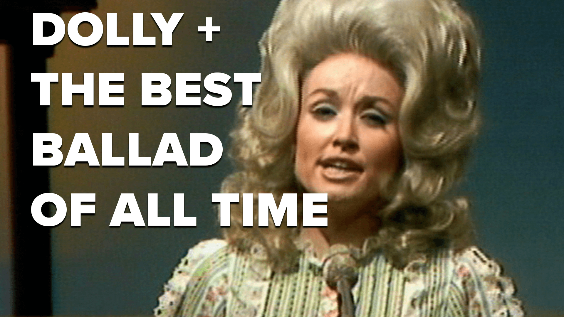 Dolly + The Best Ballad of All Time | This Week in Music History