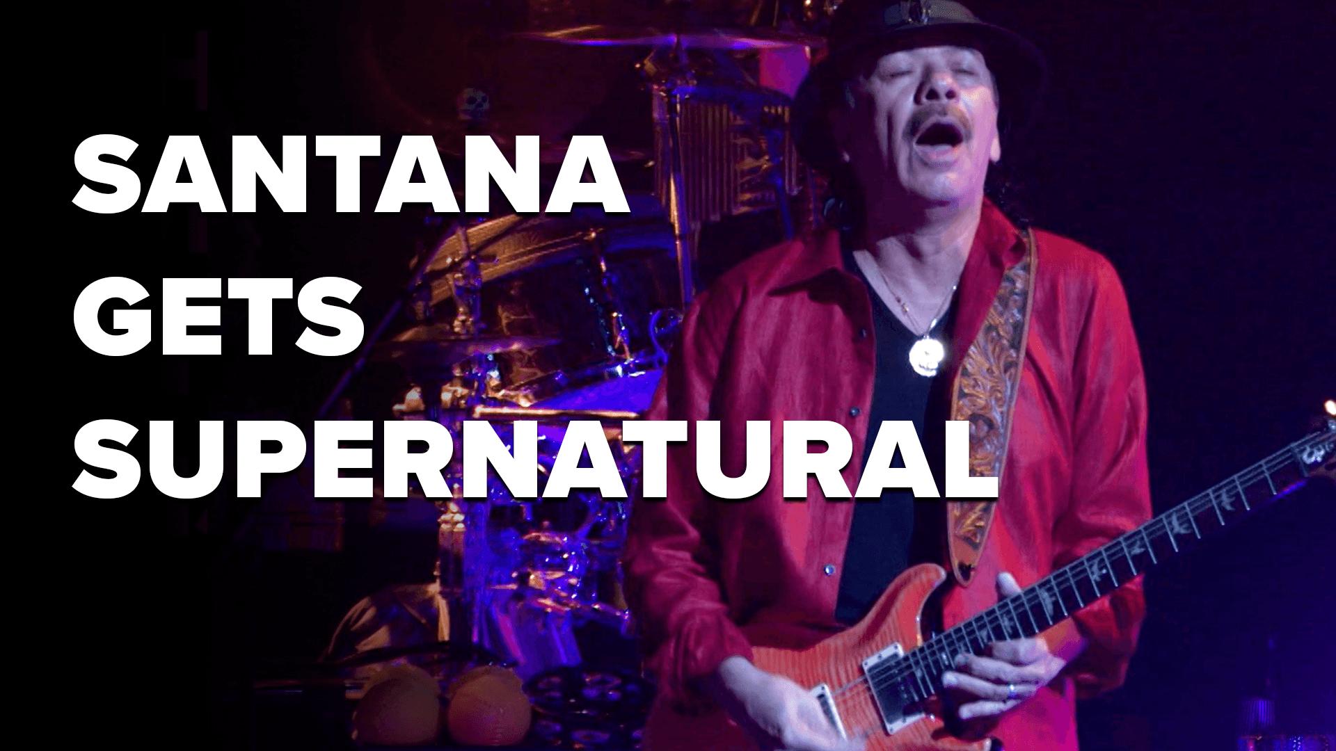 Santana Goes Supernatural   This Week in Music History