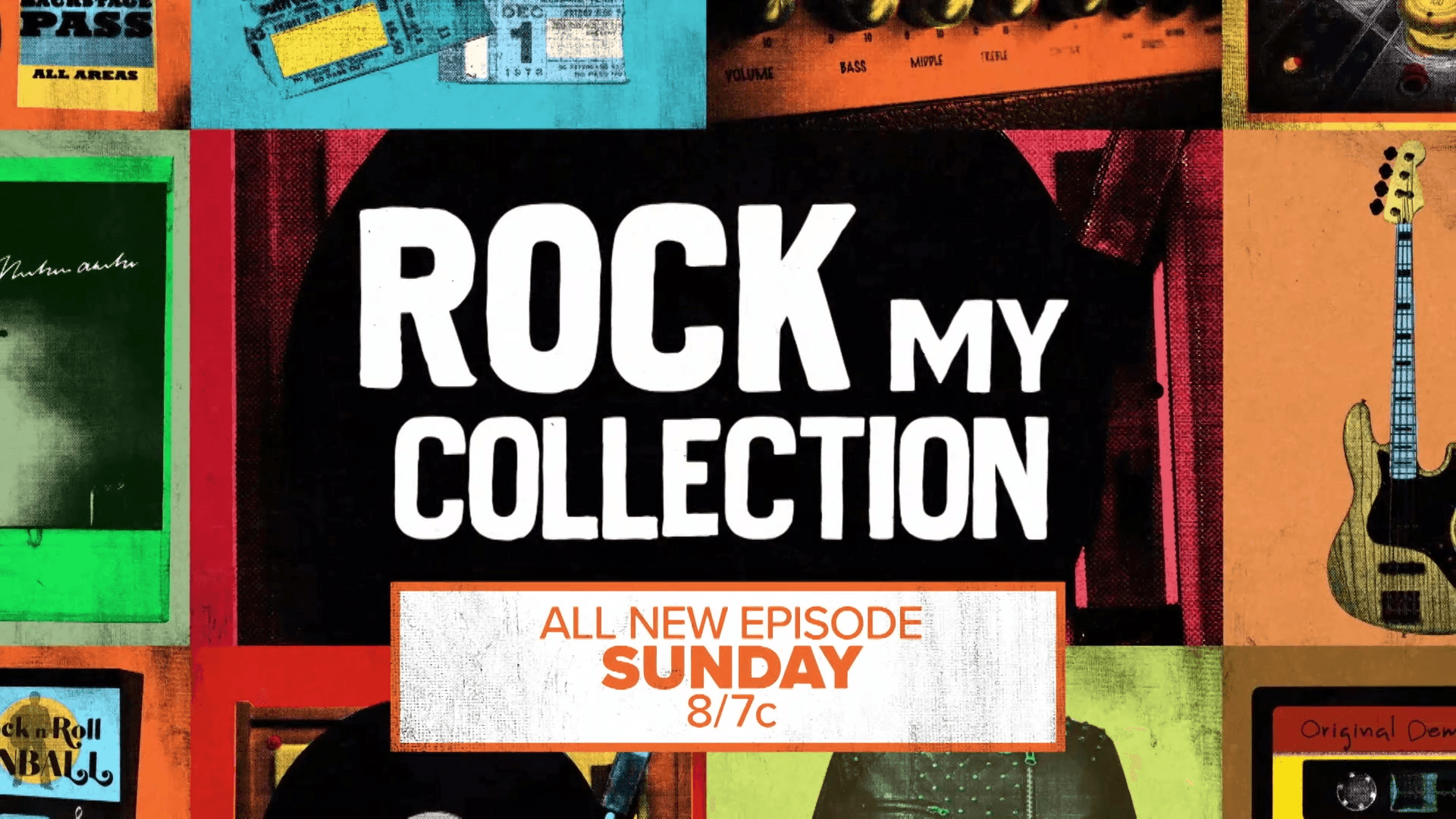 Rock My Collection | All New Episode SUNDAY on AXS TV