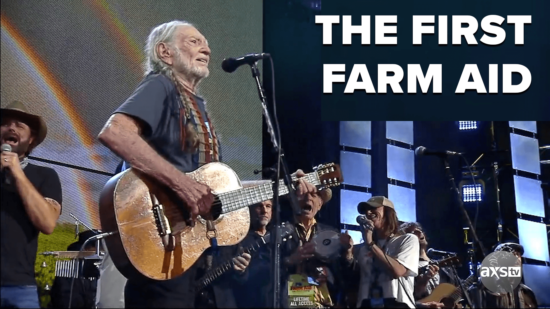 Willie Nelson, Neil Young and John Mellencamp Founded Farm Aid | This Week in Music History