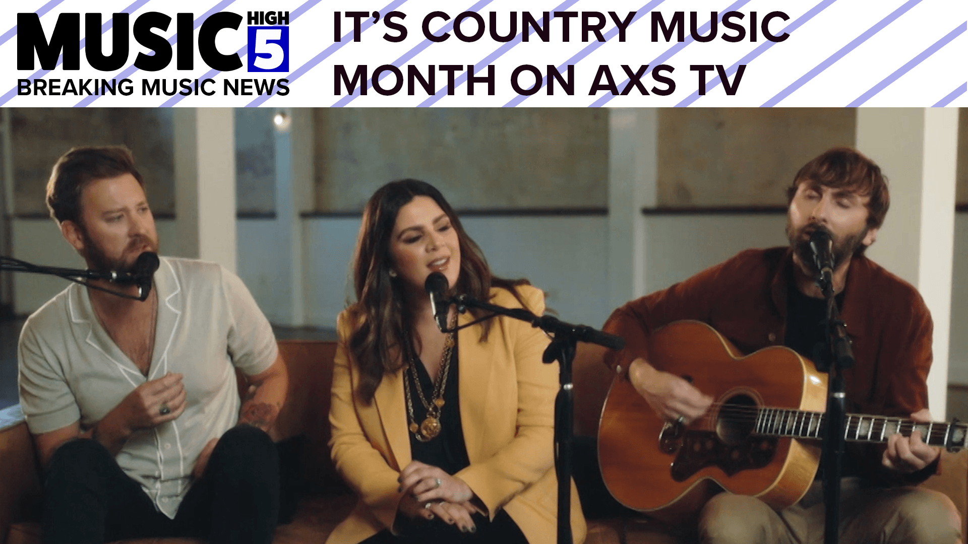 Country Music Month on AXS TV | Music High 5